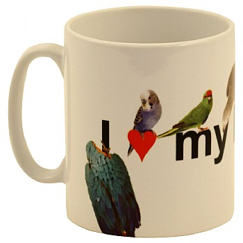 Northern_Parrots I Love My Parrot Mug