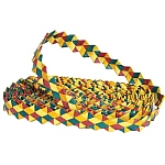 Woven Wonders Rainbow Shredder Roll - Zigzag
