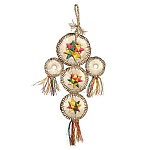Woven Wonders Dream Catcher Parrot Toy