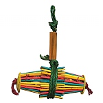 Woven Wonders Foraging Chopsticks Parrot Toy
