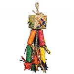 Woven Wonders Fire Cracker Parrot Toy