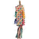 Coloured Pinata Spiked - Handmade Chew Toy for Parrots - Med
