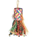 Octopus Pinata - Natural Preening Toy for Parrots - Medium