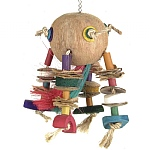 Coco Rocket Ship Parrot Toy