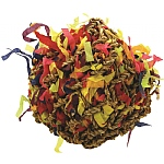 Shreddable Foraging Ball Parrot Toy - Medium