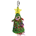 Vine Christmas Tree Parrot Toy