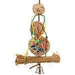 Mega Munch Ball Stack - Chewable Foraging Parrot Toy