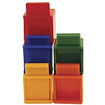 Coloured Cubes Parrot Training Toys - Pack of 5
