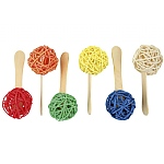 Popsicle Sticks Parrot Foot Toys - Pack of 6