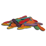 Coloured Ice Cream Sticks Chewable Parrot Toy - 50 Pack