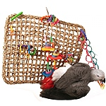 Activity Wall Chewable Parrot Toy