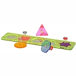Acrylic Shapes Puzzle Board Parrot Toy - Large