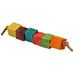 Rainbow Cubes Parrot Foot Toy