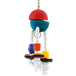 Froggy Hide and Seek Chewable Foraging Parrot Toy