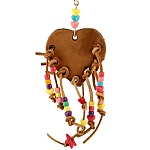 Heart Strings Parrot Toy