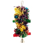 Pom Pom Stacker Parrot Toy