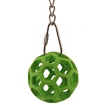 Holey Roley - Bird Safe Rubber Foraging Parrot Toy - Small
