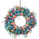 Paper Party Wheel Parrot Toy
