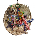 Busy Birdie Play Perch for Parrots