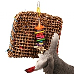 Foraging Pouch Parrot Toy