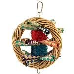 Circle of Fun Chewable Parrot Toy