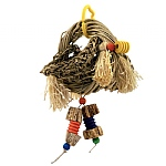 Vine Ring Platform Swing Parrot Toy