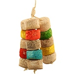 Bird Kabob - Chiquito Small - Natural Chew Toy for Parrots
