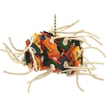 Supernova Wood & Rope Parrot Toy - Large