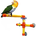 Shower & Window Parrot Perch - Small