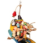 Groovy Tree Parrot Toy
