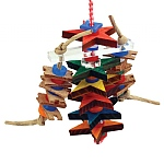 Fun Stars Stacker Parrot Toy