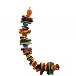 Block Spiral Parrot Toy - Medium