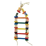 Groovy Blocks Ladder Parrot Toy