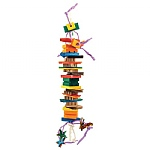 Dynamite Wood & Rope Parrot Toy - Large