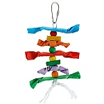 Candy Crunch Stacker Parrot Toy - Medium
