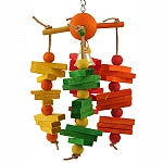 Carousel Chew Parrot Toy - Medium