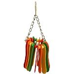 Hanging Paddles Parrot Toy