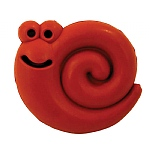 Hero Puppy Natural Rubber Hide-a Treat Chew Toy - Snail