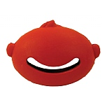 Hero Puppy Natural Rubber Hide-a-Treat  Toy - Smiley Face