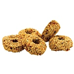 Parrot Cafe Pumpkin Donut Parrot Treats - 5 Pack