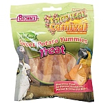 Brown`s Sweet Potato Yummies Parrot Treats
