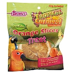 Brown`s Orange Slices Parrot Treats