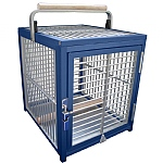King`s Cages Aluminium Parrot Travel Cage - Small