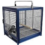 King`s Cages Aluminium Parrot Travel Cage - Medium