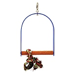 Nail Trimming Arch Swing Parrot Perch - Large