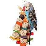 Willow Wizard Parrot Toy