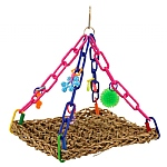 Flying Trapeze Parrot Toy - Mini