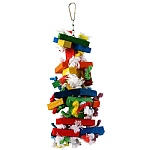 Knots `n Block Parrot Toy - Medium